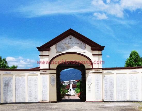 Kerkhof Peucut, Makam Tentara Belanda di Aceh