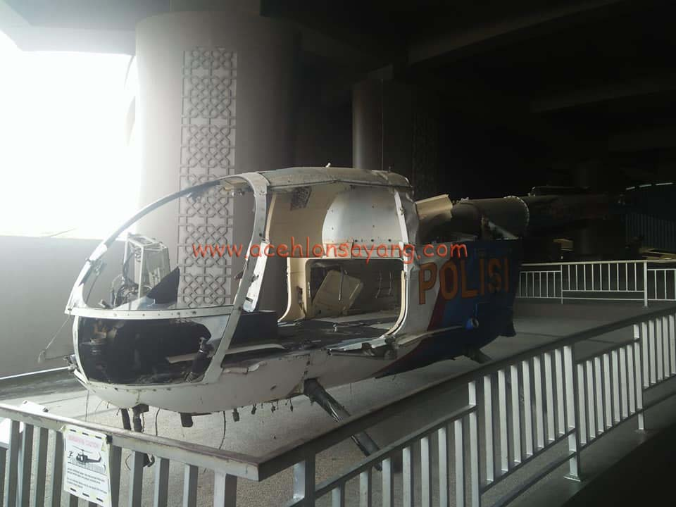 Helikopter Yang terkena Tsunami