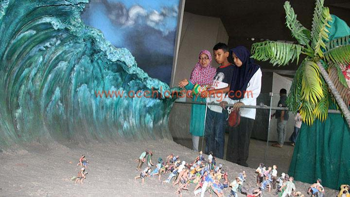 Ilustrasi Gelombang Tsunami