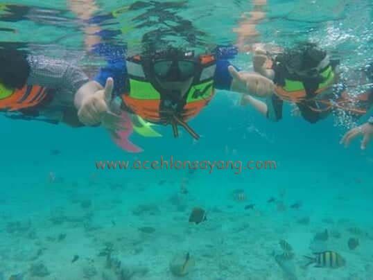 objek wisata pulau sabang, bawah laut pulau iboih
