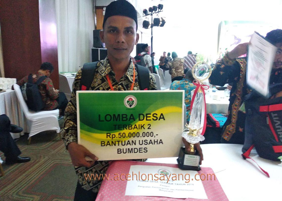 Juara Terbaik 2 Lomba Desa