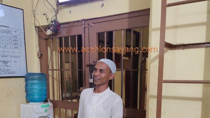 Tgk Munirwan di Polda Aceh
