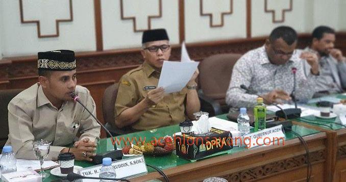 Rapat Pembentukan Qanun Bendera dan Lambang Aceh