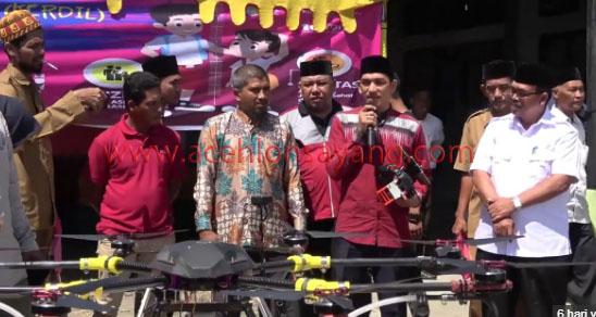 Ibnu Hajar, Perakit Drone Pertanian