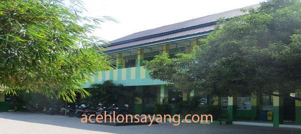 Suasana di Salah Satu Sekolah di Kota Lhokseumawe Pasca diliburkan oleh Plt Gubernur Aceh Untuk Antisipasi Penyebaran Virus Corona